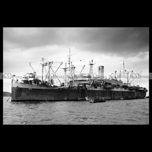 PRESIDENT ROOSEVELT LINER DICKMAN #php.03650 Photo SS JOSEPH T APA-13 1945