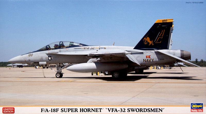 F A - 18F VFA - 32 32 32 SWORDSMEN Limited Edition 1 72 Hasegawa f32ab0