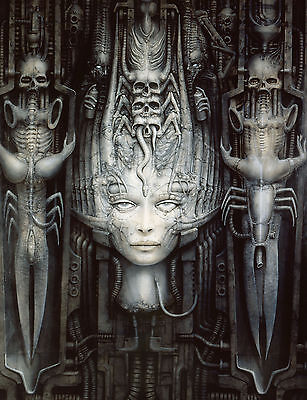 HR Giger Necronomicon Monsters HRN01 POSTER ART PRINT A4 A3 BUY 2 ...