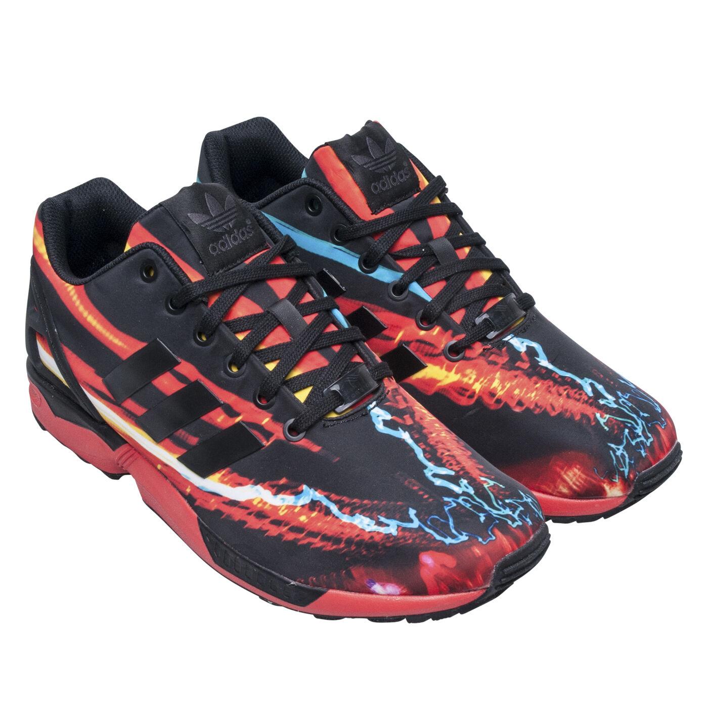 ~Adidas ZX FLUX PHOTO PRINT Running 8000 TORSION Boost Workout Shoe~Uomo sz 10.5