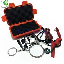 Outdoor Survival Kit Emergency Equipment SOS Camping Travel Gear Tool life saver