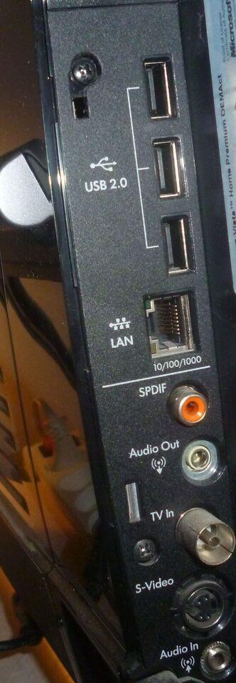 HP TouchSmart io500, Intel Core 2 Duo - 2x 2,0 GHz, 4 GB ram