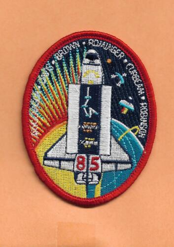 """SHUTTLE DISCOVERY STS-85    PATCH 3 1//4/"""" LONG"""