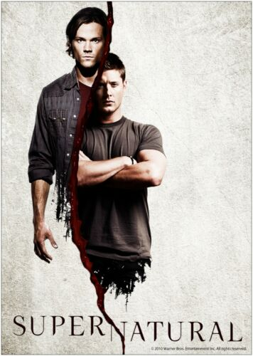 Supernatural TV Show Large Poster Art Print A0 A1 A2 A3 A4 Maxi