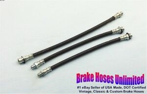 BRAKE-HOSE-SET-Plymouth-Special-DeLuxe-P15C-1946-1947-1948-1949