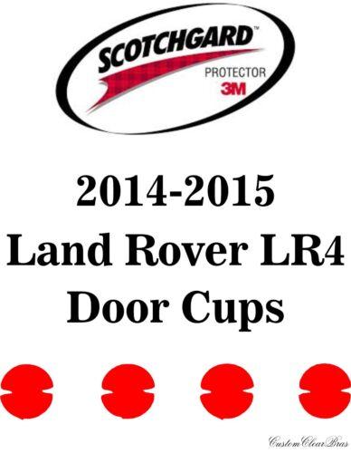 3M Scotchgard Paint Protection Film Pre-Cut Kits 2014 2015 2016 Land Rover LR4