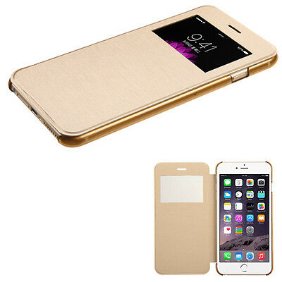 New Flip Leather Wallet View Window Skin Case Cover for Apple iPhone 6 PLUS 6 6S