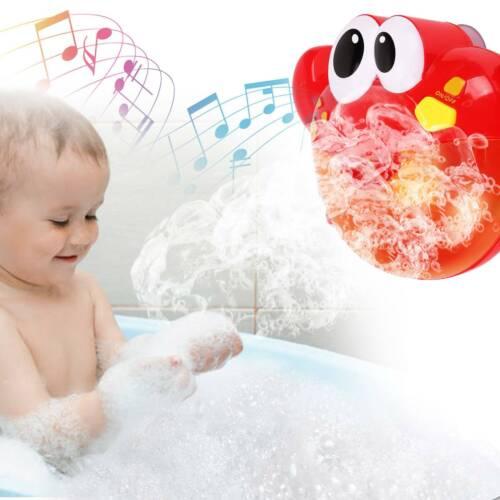 Crab Bubble Maker Automated Spout Musical Bubble Machine Bath Kid Fun Toy Gift