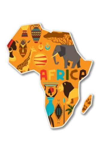 SELECT SIZE Africa Car Laptop Phone Vinyl Sticker