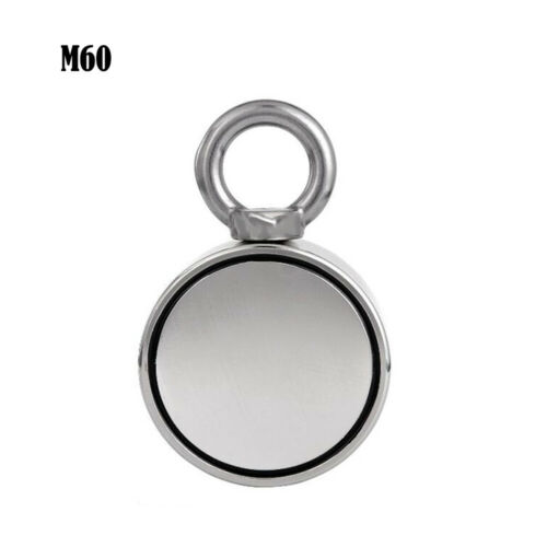 Double Side Salvage Strong Recovery Magnet Neodymium Hook Treasure Fishing