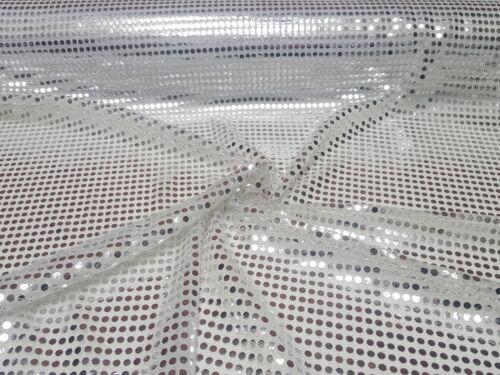 Lentejuelas lurex Jersey brillo sustancia klebepailletten METERWARE decorativas carnaval
