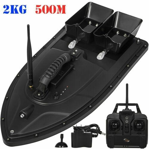 500M Wireless RC Fischerköder Futterboot Haken Post Einhandsteuerung Angelsport