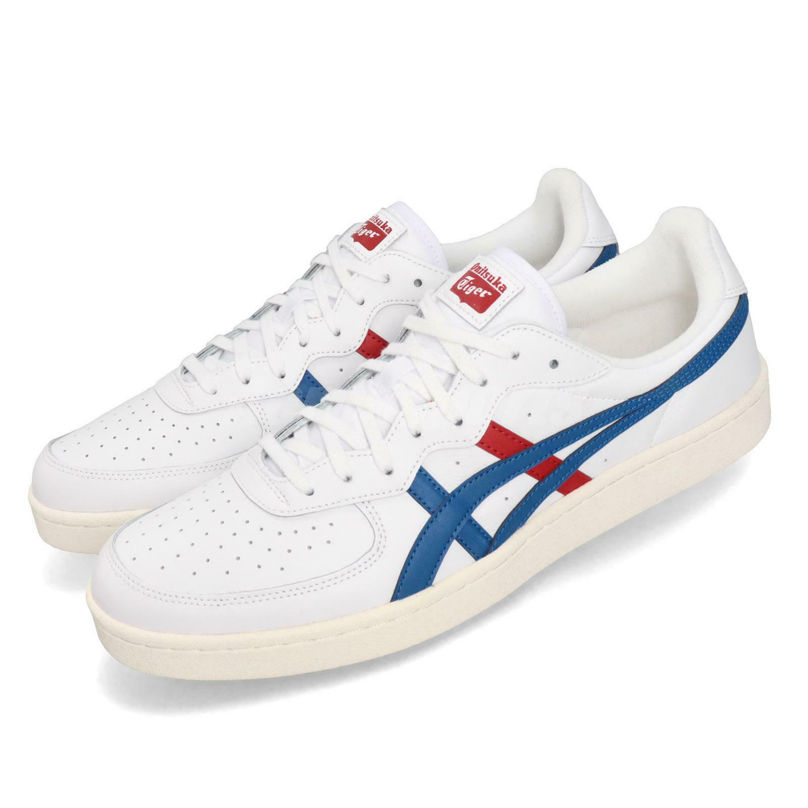 Asics Onitsuka Tiger GSM White bluee Red Men Women Unisex shoes 1183A651-105
