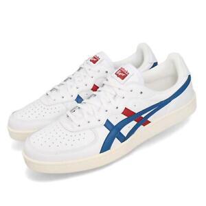 Asics-Onitsuka-Tiger-GSM-Blanc-Rouge-Bleu-Hommes-Femmes-Unisexe-Chaussures-1183A651-105