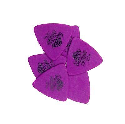 New 6 Pack Dunlop Tortex Tri .60 guitar picks 431P.60