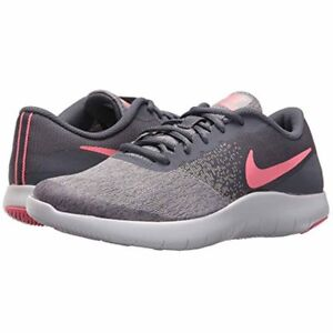 8f03009f839 NEW - NIKE Girl s FLEX CONTACT 917937-003 Gray Pink RUNNING SHOES ...