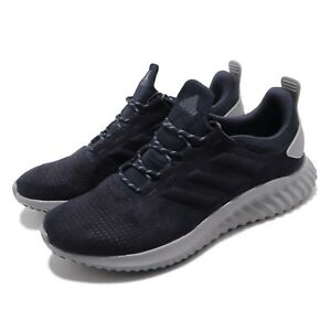 detailed look 291a4 eb566 Image is loading adidas-Alphabounce-CR-M-Navy-Grey-Men-Running-