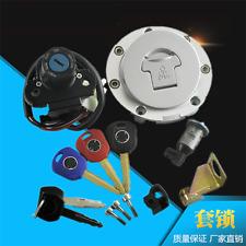 Ignition Switch Fuel Gas Cap Seat Lock 5 Keys Set for Honda CBR600RR F5 03-06