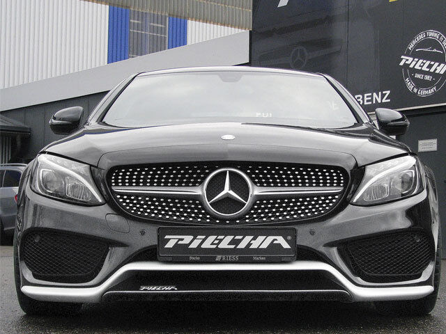 Mercedes S205 W205 S205 Mercedes C205 Clase C Delantero Alerón Labio AMG Sport Modelos f8b623