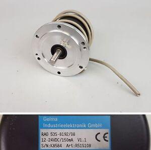 Frequenzumrichter (vfd) Motorenantriebe & Steuerungen Honig Pp6064 Drehgeber Man Colorman Gelma Rao 53s-8192/08 Tropf-Trocken