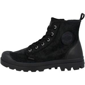 Sneaker Zip 010 Pony Hi en palladium 95983 femme Pampa noir bgyf76