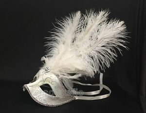 Fuchsia Masquerade Feather mask Sweet 16s Quinceanera Birthday Halloween Party