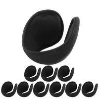 10-Pack Winter Fleece Ear Muff Warmers Behind the Ear Style