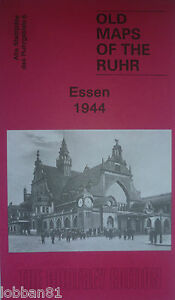 Old Maps of the Rhur Hagen 1944  Ruhrgeblets18  Brand New Map