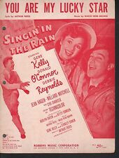You Are My Lucky Star Gene Kelly Debbie Reynolds Donald O'Connor  Sheet Music