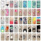 Fashion Cute Pattern Ultra Thin Soft TPU Phone Case Cover For iPhone 7 6 PLUS 5