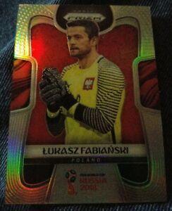 2018-Panini-Prizm-World-Cup-Silver-153-Lukasz-Fabianski-Poland-Soccer-Card
