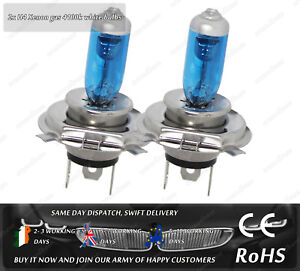 H4-55W-65W-12V-Xenon-Gas-HID-Look-White-Hi-Lo-Main-Dipped-Beam-Headlight-Bulbs