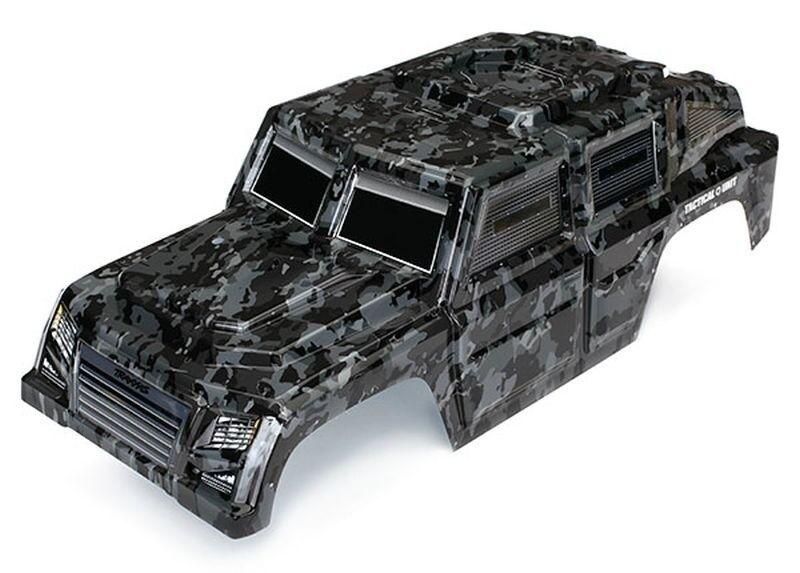 Traxxas carrocería pintada Tactical Traxxas trx-4 Tactical