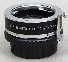 BOWER 2X AUTO TELECONVERTER for MINOLTA MD/SRT/X/XG/XD/XE Made in JAPAN