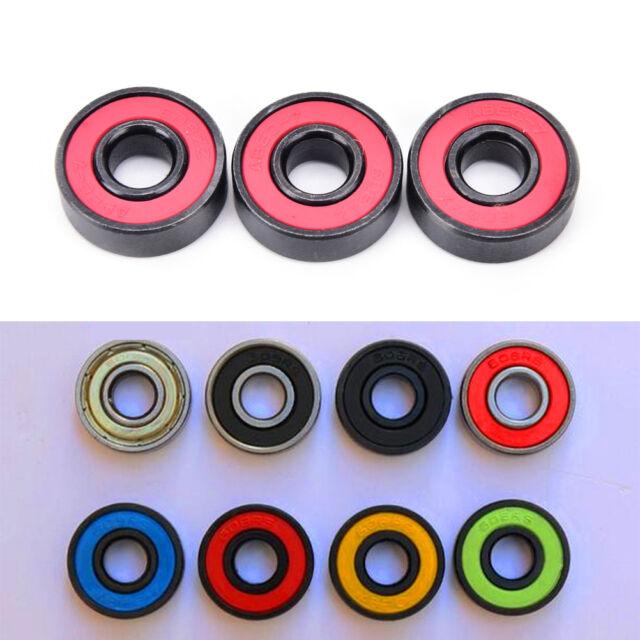 608RS ceramic ball inline bearing for finger spinner/skateboard roller wheels YF