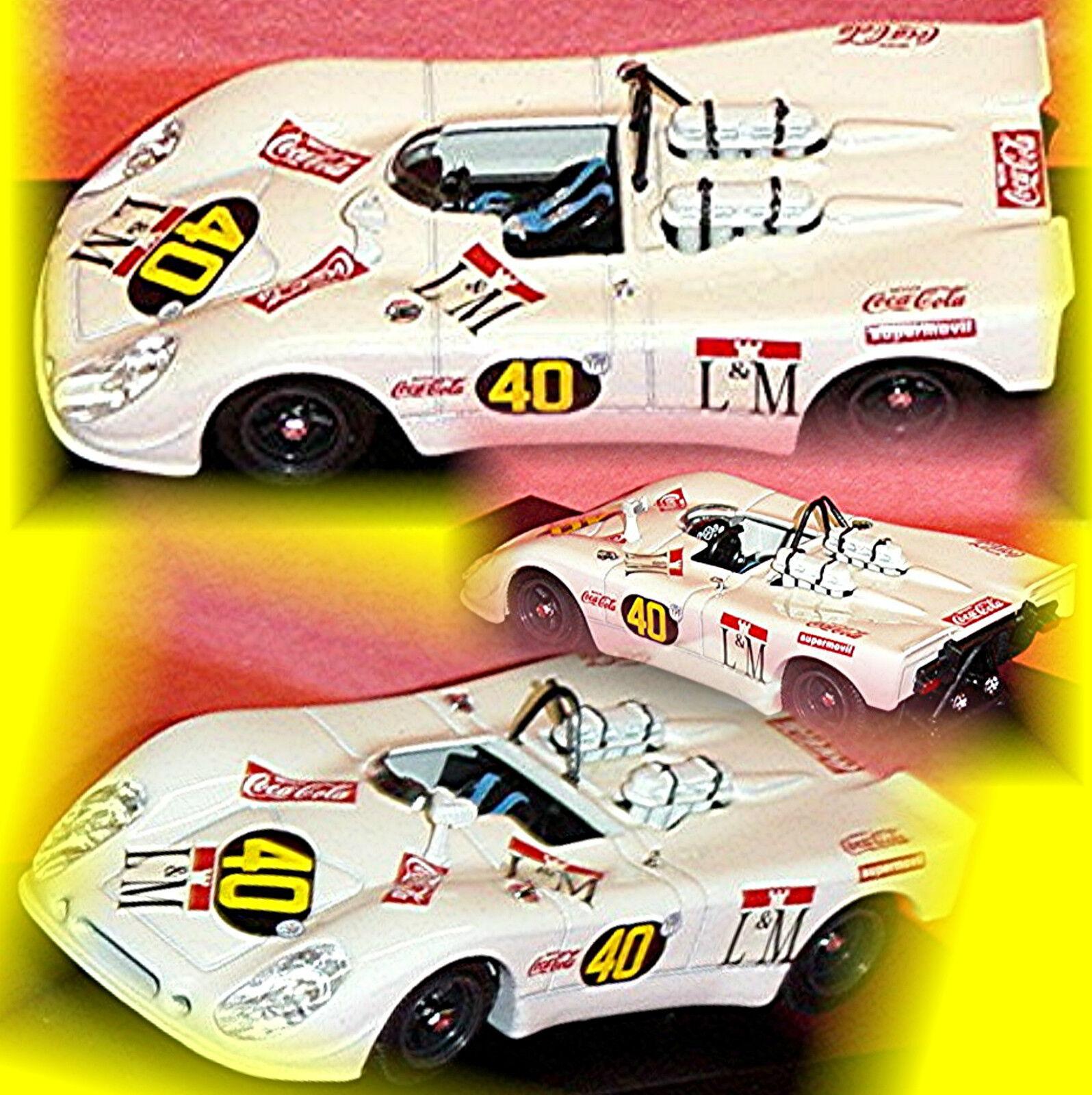 Porsche 908 2 suprême Temporada 1970  40 deoadenet Pairetti 1 43 Best Model