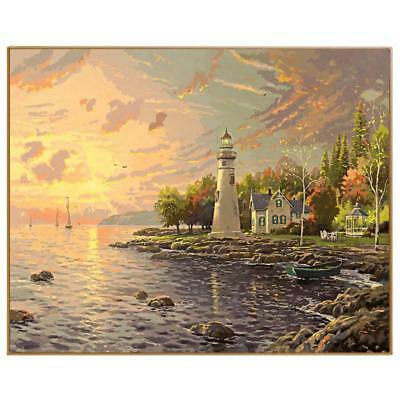 DIY Oil Painting By Numbers Nodular Pictures On The Wall Art Landscapes Sea City