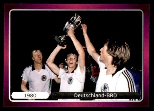 Panini euro 2012 1980 Deutschland-BRD historia Nº 524