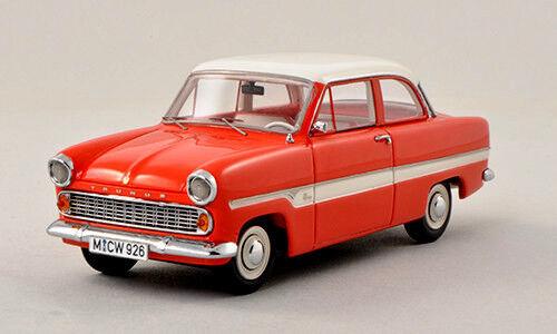 Wonderful modelcar FORD TAUNUS 12M 1959 - rot Weiß - scale 1 43 - ltd.ed.300