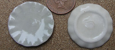 1:12 escala 2 Crema pequeñas placas de cerámica 2.2cm tumdee Casa De Muñecas Accesorio Cr24