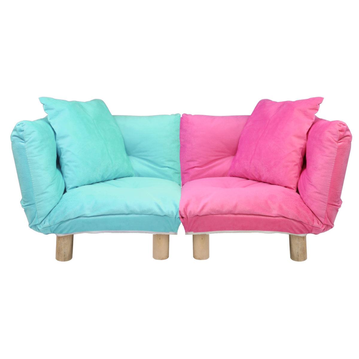 W Furniture: Corner Kid Sofa Children Furniture Floor Chair Lounge