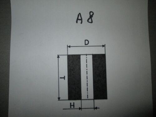 63//50micron 5 pieces GRINDING WHEEL TYPE A8 13x10x5mm CBN BORAZON