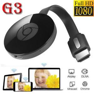 Chromecast 3rd Generation 3 Digital HDMI Media Video Streamer For Google