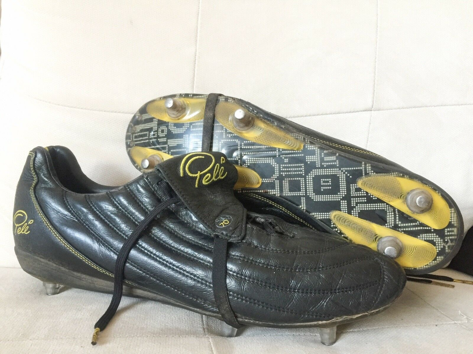 643e83585 PELE PELE PELE 1970 SG PRO Football BOOTS Soccer cleats KLeather US13  Predator Mercurial d84700