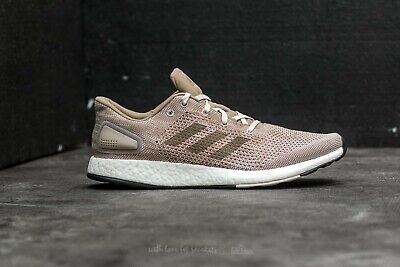 NEW Adidas PureBOOST DPR Men's Running Trace Khaki Simple