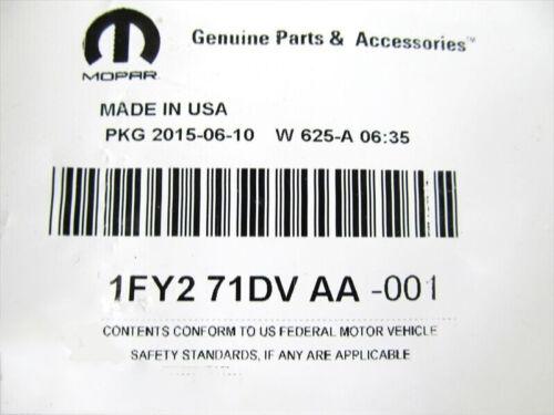 07-09 Dodge Nitro FRONT DRIVERS SEAT LEFT SIDE SHIELD TRIM PANEL OEM NEW MOPAR
