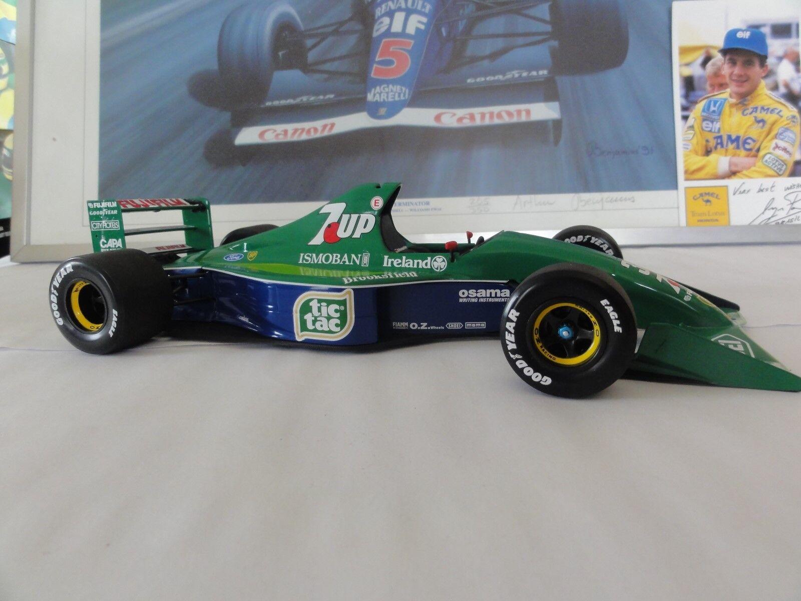 Minichamps 1:18 Michael Schumacher Schumacher Schumacher Jordan 191 GP DE BELGIQUE SPA F1 1991 | Soldes  521d25
