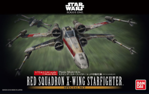 Red Squadron X-Wing Starfighter - Star Wars Rogue One by Bandai