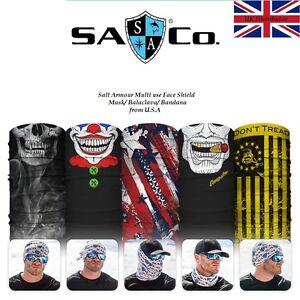 Salt Armour Multi use Face Shield Mask/ Balaclava/Band<wbr/>ana from U.S.A