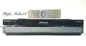 Panasonic NV-HS830 HighEnd S-VHS Videorecorder / SVHS Recorder +FB 1 Jahr Gewähr